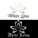 breuno10さんの新規開店のベトナム料理専門店 「White Lotus」のロゴへの提案