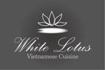 tomoki_skyさんの新規開店のベトナム料理専門店 「White Lotus」のロゴへの提案