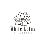 atariさんの新規開店のベトナム料理専門店 「White Lotus」のロゴへの提案