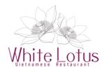 HideakiYoshimotoさんの新規開店のベトナム料理専門店 「White Lotus」のロゴへの提案