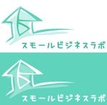 Momongaさんのスモールビジネスに関する調査・提言を行っていく活動「スモールビジネスラボ」のロゴへの提案