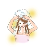 mintkiraiさんの30代女性と30代男性がシャンプーをしているイラスト(計2点)への提案