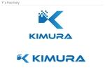 ys_factoryさんの建設関係と造船所関係の仕事をしています。株式会社 木村 のロゴへの提案