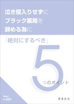 電子書籍(PDFレポート)の表紙と中面(1P)のデザイン制作依頼への提案
