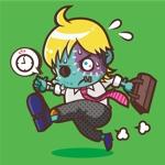 NAYAさんの【LINEスタンプ】ゾンビ+サラリーマン オリジナルキャラ(コンペ後+4万円でイラスト直接指名します)への提案