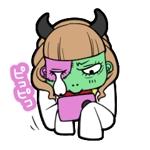 hismさんの【LINEスタンプ】ゾンビ+サラリーマン オリジナルキャラ(コンペ後+4万円でイラスト直接指名します)への提案