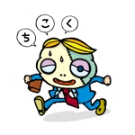 UNDYさんの【LINEスタンプ】ゾンビ+サラリーマン オリジナルキャラ(コンペ後+4万円でイラスト直接指名します)への提案