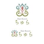 angieさんの美容室の店舗ロゴへの提案