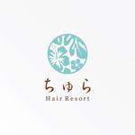 tanaka10さんの美容室の店舗ロゴへの提案