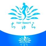 alisaさんの美容室の店舗ロゴへの提案