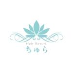 YuNAさんの美容室の店舗ロゴへの提案