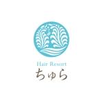 y-wachiさんの美容室の店舗ロゴへの提案