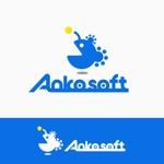 ソフトウェア開発会社「Ankosoft」のロゴへの提案