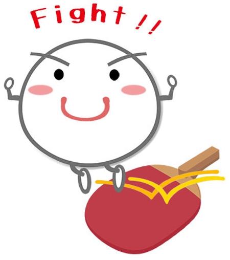 Akikoyamamotoさんの事例 実績 提案 卓球用具 主にピン球 をモチーフにしたかわいいイラスト 初めまして 山本あき クラウドソーシング ランサーズ