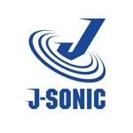 新規に起業する特殊専門機械メーカー会社『(株)J-SONIC』の企業ロゴへの提案