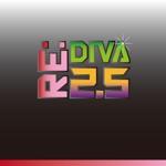 shojiroさんのボーカロイドのオリジナル音楽ユニット「Re:DIVA2.5(リアルディーヴァニーテンゴ)」のユニット名ロゴへの提案