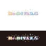 kora3さんのボーカロイドのオリジナル音楽ユニット「Re:DIVA2.5(リアルディーヴァニーテンゴ)」のユニット名ロゴへの提案