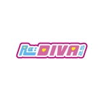 sayumistyleさんのボーカロイドのオリジナル音楽ユニット「Re:DIVA2.5(リアルディーヴァニーテンゴ)」のユニット名ロゴへの提案