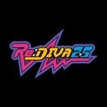 onlyone1さんのボーカロイドのオリジナル音楽ユニット「Re:DIVA2.5(リアルディーヴァニーテンゴ)」のユニット名ロゴへの提案