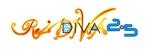 rausu55さんのボーカロイドのオリジナル音楽ユニット「Re:DIVA2.5(リアルディーヴァニーテンゴ)」のユニット名ロゴへの提案