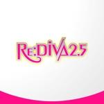 sa_akutsuさんのボーカロイドのオリジナル音楽ユニット「Re:DIVA2.5(リアルディーヴァニーテンゴ)」のユニット名ロゴへの提案