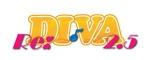 ahabさんのボーカロイドのオリジナル音楽ユニット「Re:DIVA2.5(リアルディーヴァニーテンゴ)」のユニット名ロゴへの提案