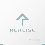 akitakenさんの競泳水着を中心としたコスチュームブランド『REALISE』のロゴへの提案