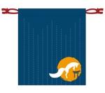 renjuさんの狐をモチーフとした、お面を入れるための巾着袋のデザインへの提案