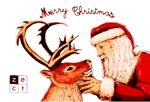 mikenyanさんの2014年美容室のクリスマスカードDM (裏)への提案