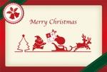 raffioさんの2014年美容室のクリスマスカードDM (裏)への提案