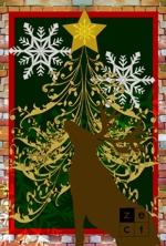 hahaseikoさんの2014年美容室のクリスマスカードDM (裏)への提案