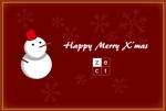 sato_cさんの2014年美容室のクリスマスカードDM (裏)への提案