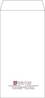 sorai180さんの税理士・司法書士事務所の封筒のデザイン(長3と角2)への提案