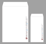 sacumanさんの税理士・司法書士事務所の封筒のデザイン(長3と角2)への提案