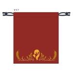 amedoriさんの狐をモチーフとした、お面を入れるための巾着袋のデザインへの提案