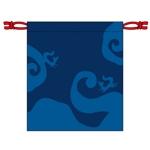 bandanaさんの狐をモチーフとした、お面を入れるための巾着袋のデザインへの提案
