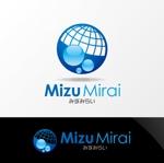 Nyankichi_comさんの新法人「みずみらい」のロゴ作成への提案