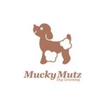 nabeさんのドッグ トリミングサロン 『Mucky Mutz Dog Grooming』の ロゴへの提案