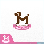 neomasuさんのドッグ トリミングサロン 『Mucky Mutz Dog Grooming』の ロゴへの提案