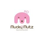 edesign213さんのドッグ トリミングサロン 『Mucky Mutz Dog Grooming』の ロゴへの提案