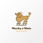 nobuworksさんのドッグ トリミングサロン 『Mucky Mutz Dog Grooming』の ロゴへの提案