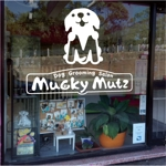 toshikunさんのドッグ トリミングサロン 『Mucky Mutz Dog Grooming』の ロゴへの提案
