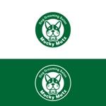 skyktmさんのドッグ トリミングサロン 『Mucky Mutz Dog Grooming』の ロゴへの提案