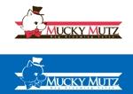 ARIELDESIGNさんのドッグ トリミングサロン 『Mucky Mutz Dog Grooming』の ロゴへの提案
