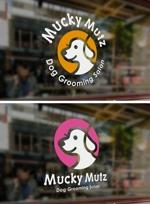 J-wonderさんのドッグ トリミングサロン 『Mucky Mutz Dog Grooming』の ロゴへの提案
