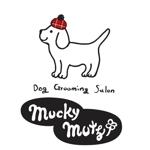 honeybeansさんのドッグ トリミングサロン 『Mucky Mutz Dog Grooming』の ロゴへの提案