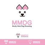 kora3さんのドッグ トリミングサロン 『Mucky Mutz Dog Grooming』の ロゴへの提案