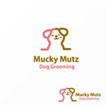 Jellyさんのドッグ トリミングサロン 『Mucky Mutz Dog Grooming』の ロゴへの提案