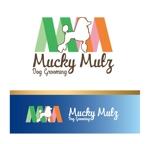 zen634さんのドッグ トリミングサロン 『Mucky Mutz Dog Grooming』の ロゴへの提案