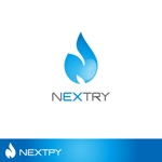 nekofuさんの【工場汚水の浄化をする為の工業系薬品の製造・販売会社】『㈱NEXTRY(ネクストリー)』のロゴへの提案